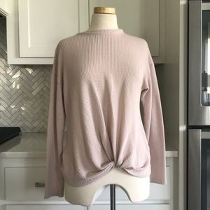 pink knot front top!
